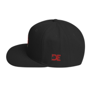 Rose Bud High Profile Snapback Hat Carlos Solano hat Rose Bud High Profile Snapback Hat Rose Bud High Profile Snapback Hat - Devious Elements Apparel