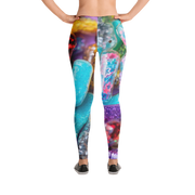 Confetti Party Pills Print Leggings - Devious Elements Apparel