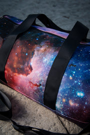 Space Nebula Medium Canvas Duffle Bag
