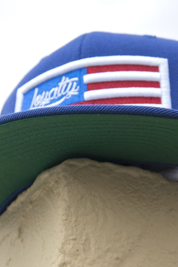 Loyalty Flag Snapback Hat - Devious Elements Apparel