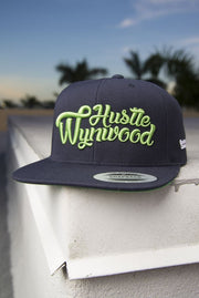Hustle Wynwood Graffiti Snapback Hat - Devious Elements Apparel