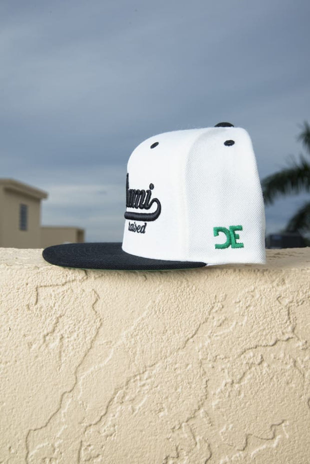 Miami Raised Snapback Hat - Devious Elements Apparel