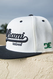 Miami Raised Snapback Hat Loyalty hat Miami Raised Snapback Hat Miami Raised Snapback Hat - Devious Elements Apparel