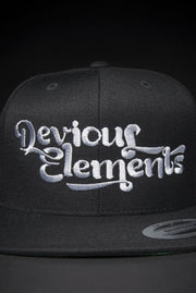 Devious Elements Silver Stitch Snapback Hat