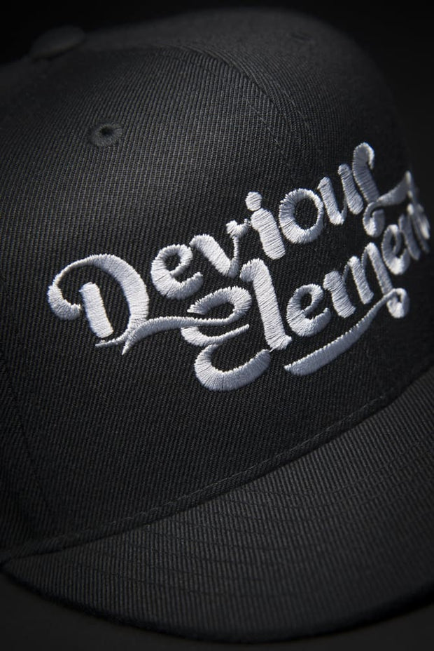 Devious Elements Silver Stitch Snapback Hat Devious Elements Apparel hat Devious Elements Silver Stitch Snapback Hat Devious Elements Silver Stitch Snapback Hat - Devious Elements Apparel