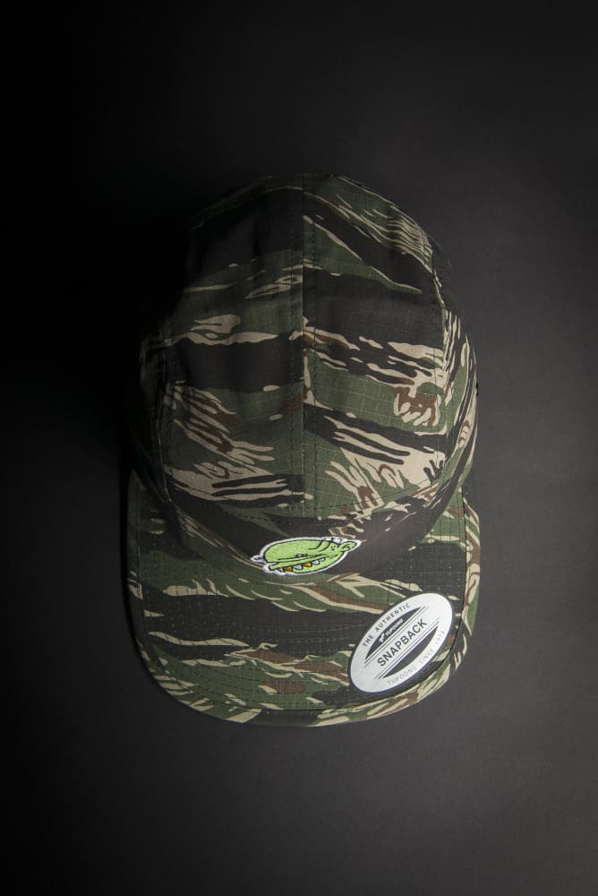 Goop Head Green Logo Fisherman Hat - Devious Elements Apparel