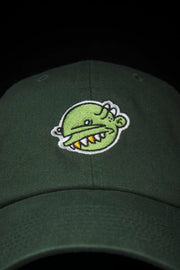 Green Goop Head Dad Hat Goopmassta hat Green Goop Head Dad Hat Green Goop Head Dad Hat - Devious Elements Apparel