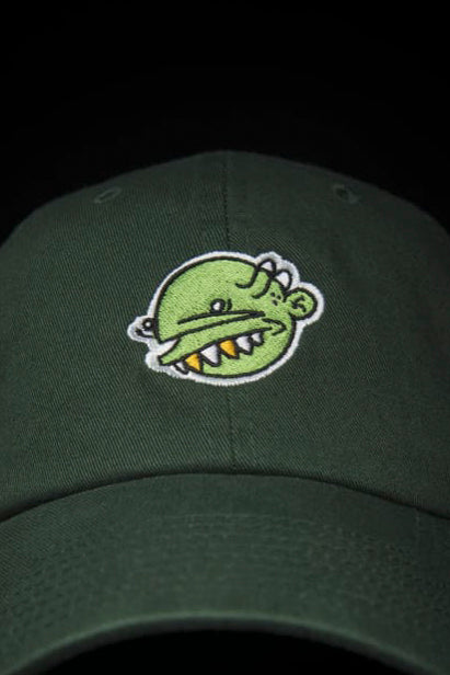Green Goop Head Dad Hat