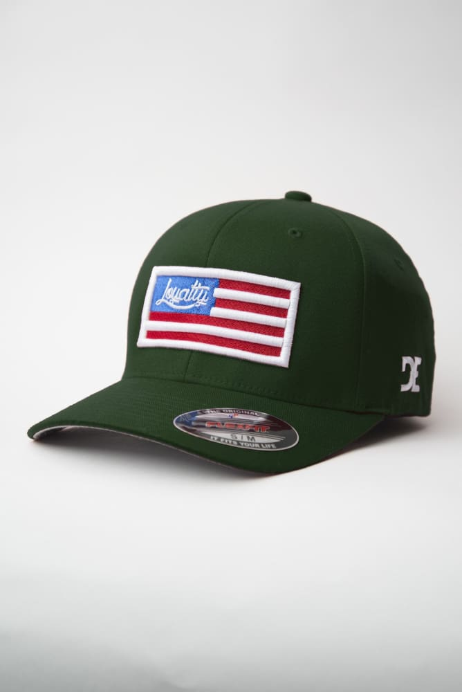 Loyalty Flag Fitted Hat - Devious Elements Apparel