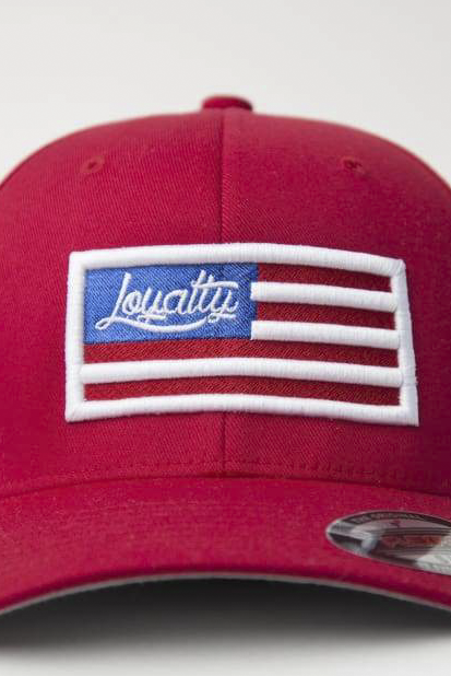 Loyalty Flag Fitted Hat