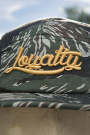 Loyalty Tiger Camo Gold Fisheman Hat - Devious Elements Apparel