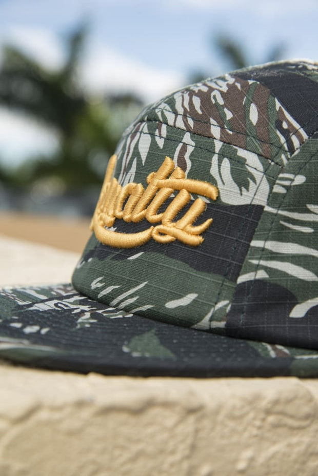 Loyalty Tiger Camo Gold Fisheman Hat Loyalty hat Loyalty Tiger Camo Gold Fisheman Hat Loyalty Tiger Camo Gold Fisheman Hat - Devious Elements Apparel