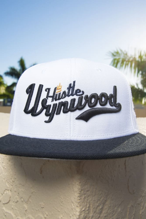 Hustle Wynwood Crown Edition Wool Blend Snapback Hat - Devious Elements Apparel