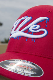 We Drippin Flex-Fit Fitted Hat - Devious Elements Apparel