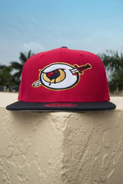 Third Eye Thrashers Red Snapback Hat Third Eye Thrashers hat Third Eye Thrashers Red Snapback Hat Third Eye Thrashers Red Snapback Hat - Devious Elements Apparel