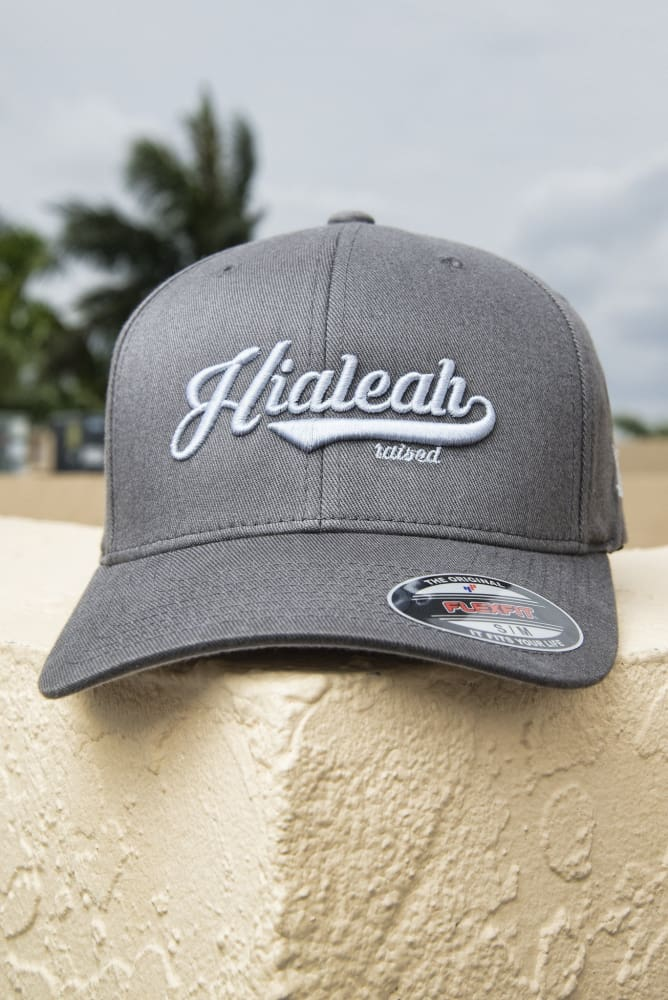 Hialeah Raised Fitted Hat - Devious Elements Apparel