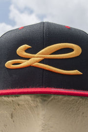Loyalty Big L Gold Snapback Loyalty hat Loyalty Big L Gold Snapback Loyalty Big L Gold Snapback - Devious Elements Apparel