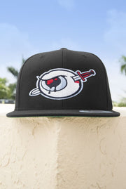 Third Eye Thrashers Black & Silver Logo Snapback Hat Third Eye Thrashers hat Third Eye Thrashers Black & Silver Logo Snapback Hat Third Eye Thrashers Black & Silver Logo Snapback Hat - Devious Elements Apparel