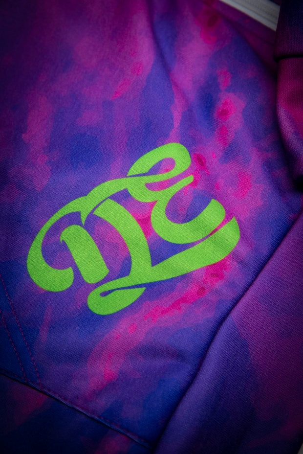 Dopeler Dye Purple Rain Unisex Plush Microfleece Zipper Hoodie Subliminator Microfleece Ziphoodie - AOP Dopeler Dye Purple Rain Unisex Plush Microfleece Zipper Hoodie Dopeler Dye Purple Rain Unisex Plush Microfleece Zipper Hoodie - Devious Elements Apparel