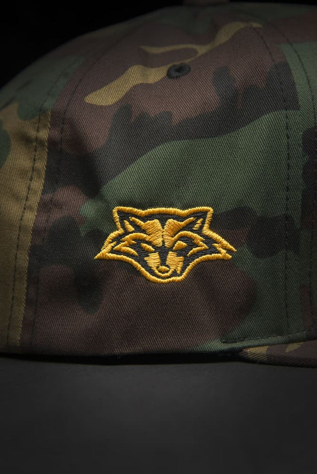 Reckless Raccoons Camo Snapback Hat - Devious Elements Apparel
