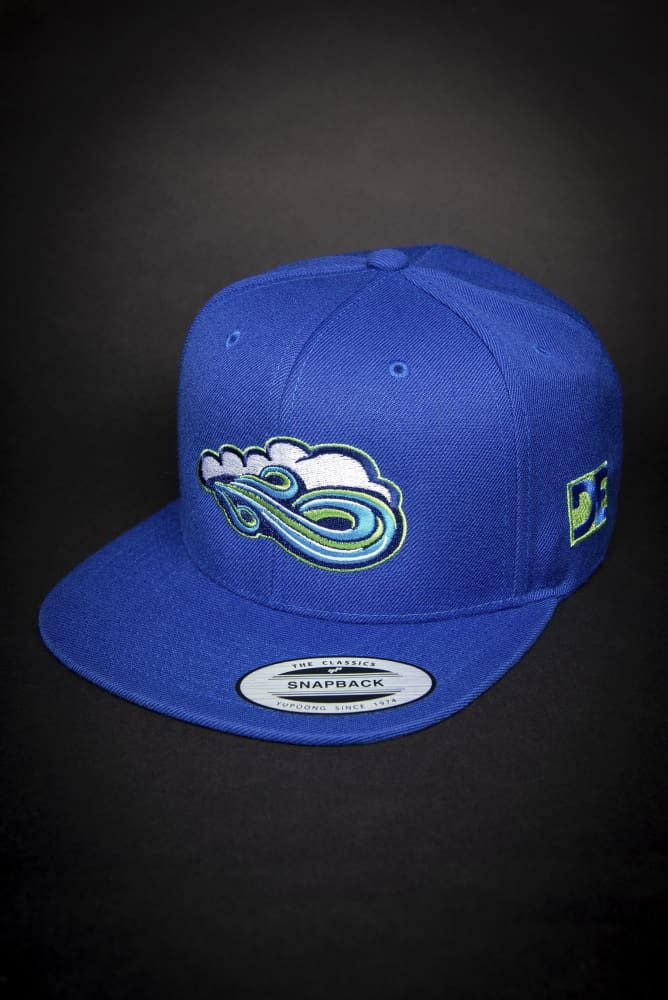 Big Waves High Profile Snapback Hat - Devious Elements Apparel