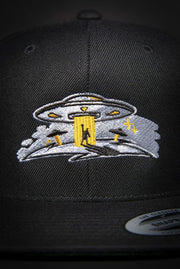 Take Me To Your Leader High Profile Snapback Hat Loyalty hat Take Me To Your Leader High Profile Snapback Hat Take Me To Your Leader High Profile Snapback Hat - Devious Elements Apparel