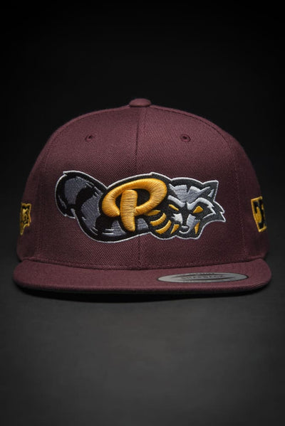 Reckless Raccoons Snapback Hat - Devious Elements Apparel