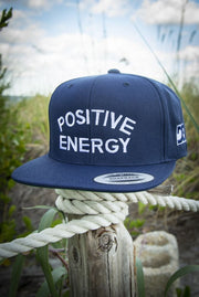 Positive Energy High Profile Snapback Hat Carlos Solano hat Positive Energy High Profile Snapback Hat Positive Energy High Profile Snapback Hat - Devious Elements Apparel