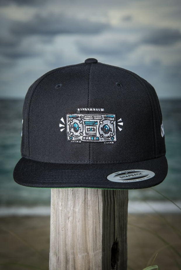 Boom Box High Profile Snapback Hat - Devious Elements Apparel