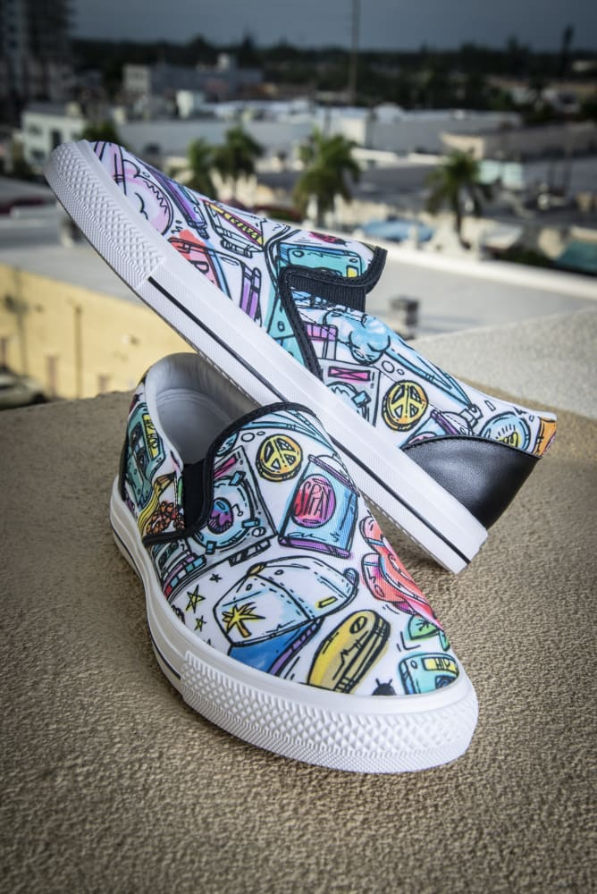 Funky Culture Pattern Print Canvas Ladies Sneaker If interested you can check my. funky culture pattern print canvas ladies slip on low top sneaker