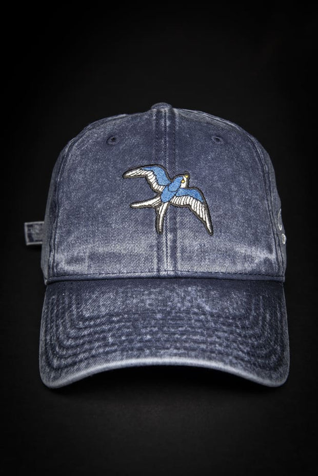Blue Bird Vintage Dad Hat IVANKA C hat Blue Bird Vintage Dad Hat Blue Bird Vintage Dad Hat - Devious Elements Apparel