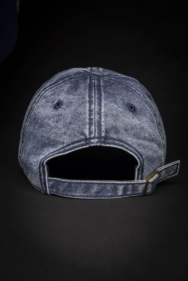 Blue Bird Vintage Dad Hat - Devious Elements Apparel