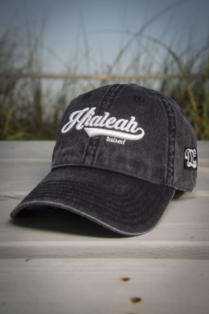 Hialeah Raised Vintage Dad Hat - Devious Elements Apparel