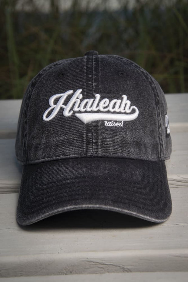 Hialeah Raised Vintage Dad Hat Hialeah Raised hat Hialeah Raised Vintage Dad Hat Hialeah Raised Vintage Dad Hat - Devious Elements Apparel