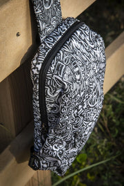 Devious Doodle Print Strap Chest Bag Devious Elements Apparel Back Pack Devious Doodle Print Strap Chest Bag Devious Doodle Print Strap Chest Bag - Devious Elements Apparel