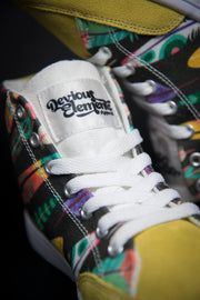 Colorful Feathers Print Canvas Hi-Top Men's Sneakers Devious Elements Apparel shoes Colorful Feathers Print Canvas Hi-Top Men's Sneakers Colorful Feathers Print Canvas Hi-Top Men's Sneakers - Devious Elements Apparel