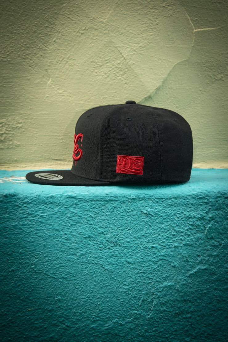 We Drippin All Red High Profile Snapback - Devious Elements Apparel