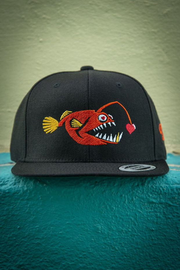 Love Chaser Fish Hat Snapback - Devious Elements Apparel