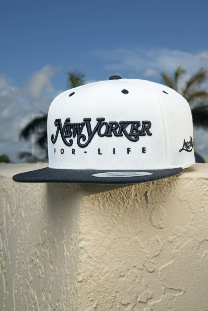 8d5aac00 New Yorker For Life Snapback Hat | Devious Elements Apparel