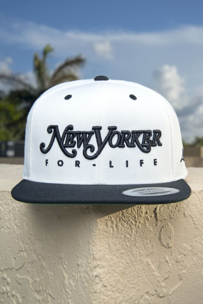 476f15fb New Yorker For Life Snapback Hat