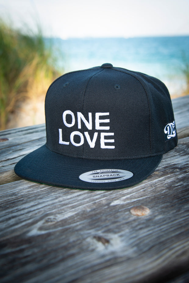 One Love High Profile Snapback Hat Carlos Solano hat One Love High Profile Snapback Hat One Love High Profile Snapback Hat - Devious Elements Apparel