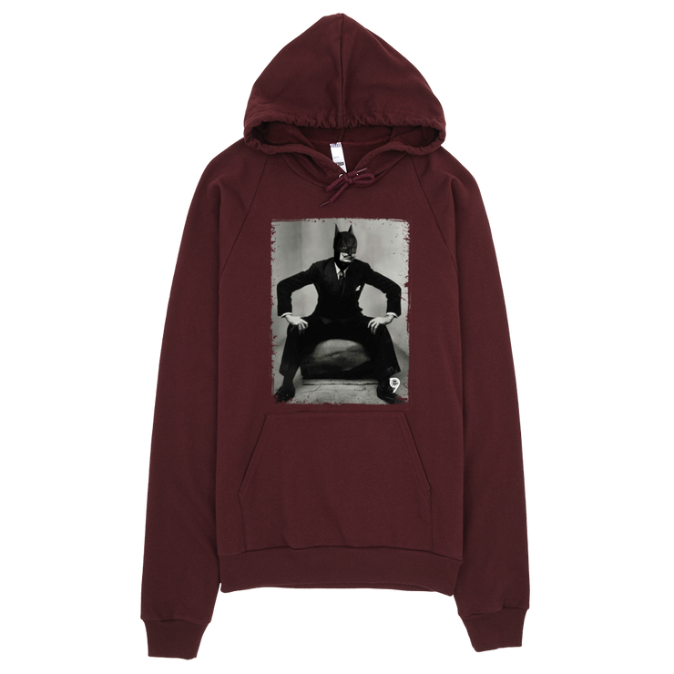 Dali Batman Pullover Hoodie - Devious Elements Apparel