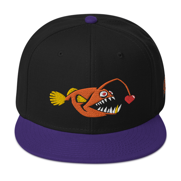 Love Chaser Fish Hat Snapback Devious Elements Apparel hat Love Chaser Fish Hat Snapback Love Chaser Fish Hat Snapback - Devious Elements Apparel