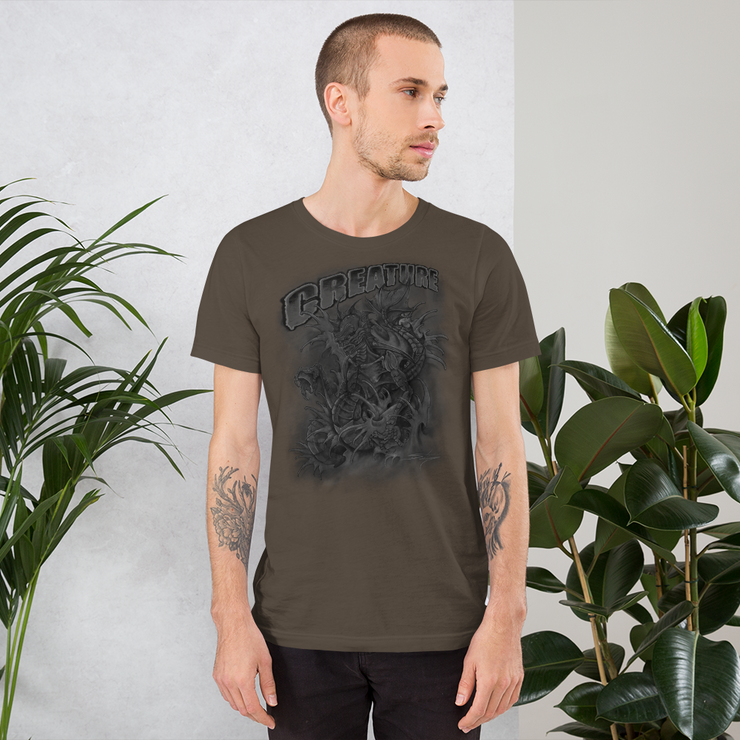 Creature From The Black Lagoon Crew Unisex Basic T-shirt