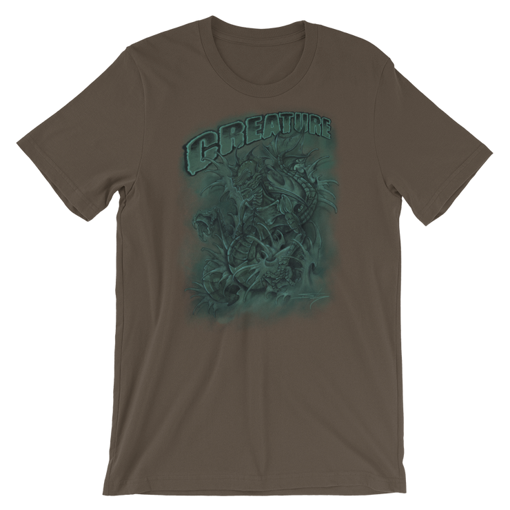 Creature From The Black Lagoon Crew Unisex Basic T-shirt Derek Garcia Shirt Creature From The Black Lagoon Crew Unisex Basic T-shirt Creature From The Black Lagoon Crew Unisex Basic T-shirt - Devious Elements Apparel