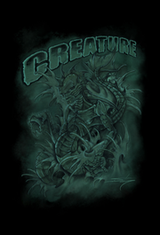 Creature From The Black Lagoon Cut-&-Sew Unisex Crew - Devious Elements Apparel