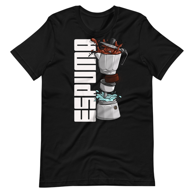 Espuma Dissected Cafetera Unisex Crew T-Shirt ESPUMA Shirt Espuma Dissected Cafetera Unisex Crew T-Shirt Espuma Dissected Cafetera Unisex Crew T-Shirt - Devious Elements Apparel
