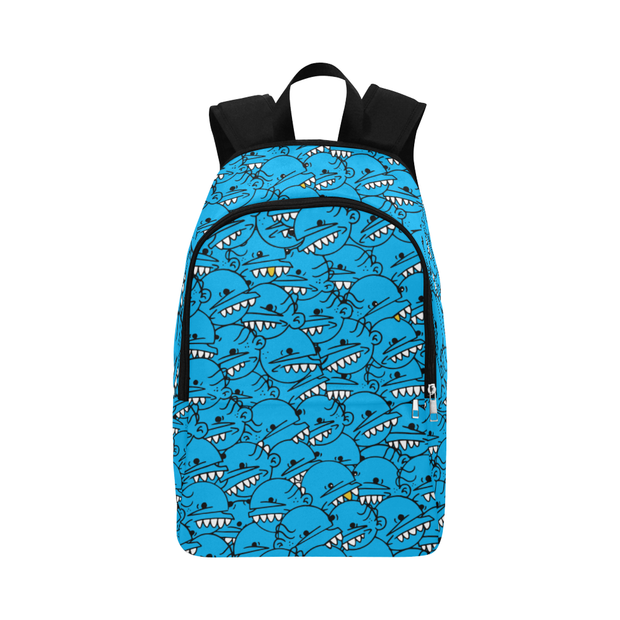 Goop Heads Solid Pattern Print Laptop Backpack - Devious Elements Apparel