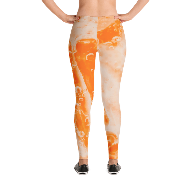Fizzy Orange Bubbles Print Leggings Devious Elements Apparel Leggings Fizzy Orange Bubbles Print Leggings Fizzy Orange Bubbles Print Leggings - Devious Elements Apparel