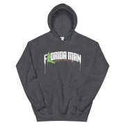 Florida Man (Where Will He Strike Next?) Print Pullover Hoodie